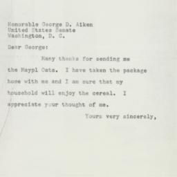 Letter: 1953 January 31