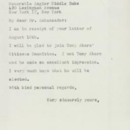 Letter: 1954 August 24