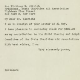 Letter : 1945 June 8