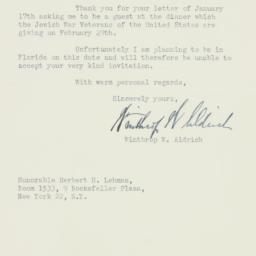 Letter: 1948 January 19