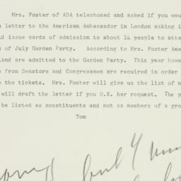 Letter: 1953 June 18