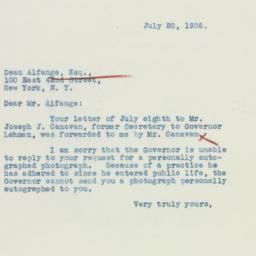 Letter : 1936 July 20