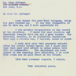 Letter: 1941 March 13