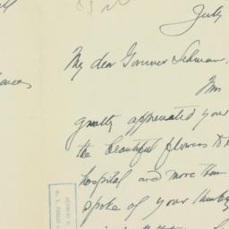 Letter : 1935 July 4