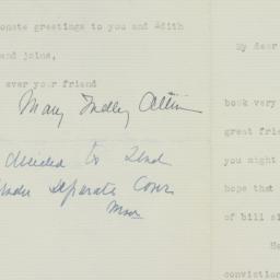 Letter: 1939 June 4