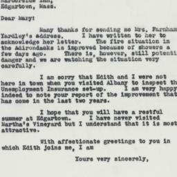 Letter : 1941 July 15
