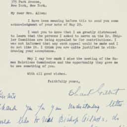 Letter : 1947 May 24