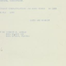 Telegram: 1933 May 9