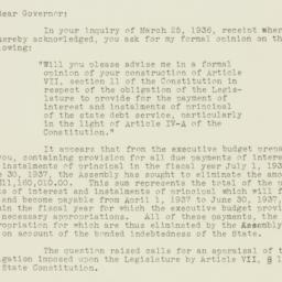 Press Release: 1936 March 30