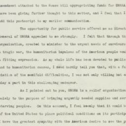 Manuscript: 1945 November 7
