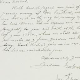 Letter : 1948 July 14