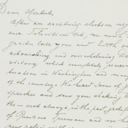 Letter : 1948 November 3
