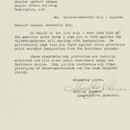 Letter : 1942 March 18