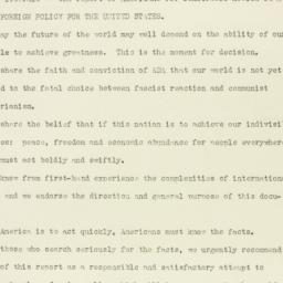 Press Release: 1947 October 20
