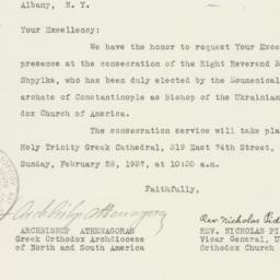 Letter : 1937 February 20