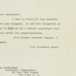 Letter : 1948 October 5