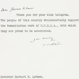 Letter : 1945 November 30