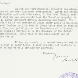 Letter : 1937 March 26