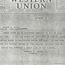 Telegram : 1937 December 28