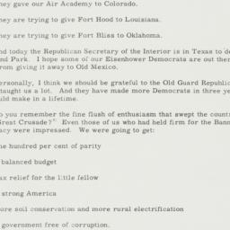 Speech : 1955 November 21