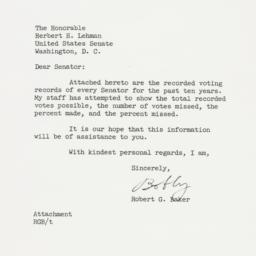 Letter: 1956 October 8