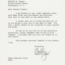 Letter: 1959 November 27