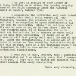 Letter : 1951 June 5