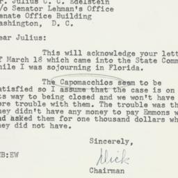 Letter: 1953 April 10