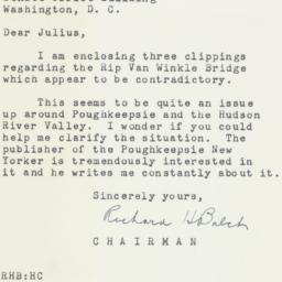 Letter: 1954 May 7