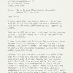 Letter: 1955 May 23