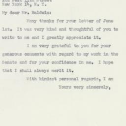 Letter : 1956 June 11