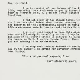 Letter: 1955 May 3