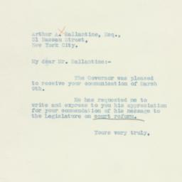 Letter : 1934 March 13