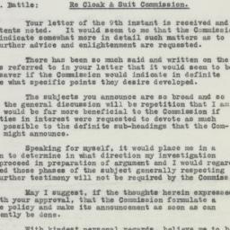 Letter: 1926 February 12