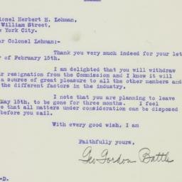 Letter: 1926 February 16