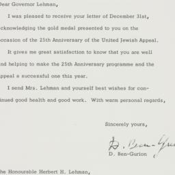 Letter : 1963 January 13