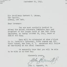 Letter: 1941 September 21