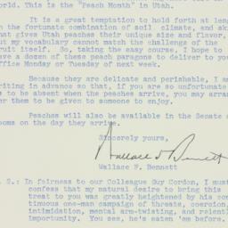 Letter : 1951 September 14