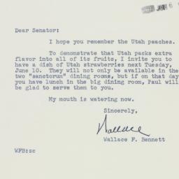Letter : 1952 June 6