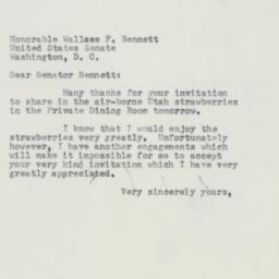 Letter : 1953 June 22