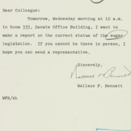 Letter : 1955 June 7
