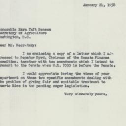 Letter : 1956 January 24