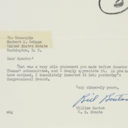 Letter: 1950 July 8