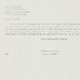 Letter: 1951 June 1