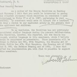 Letter: 1951 June 13
