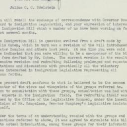 Memorandum: 1951 July 3