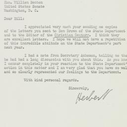 Letter: 1952 August 4