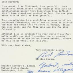 Letter: 1953 February 3