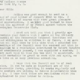 Letter: 1957 February 21