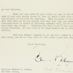 Letter : 1946 June 18
